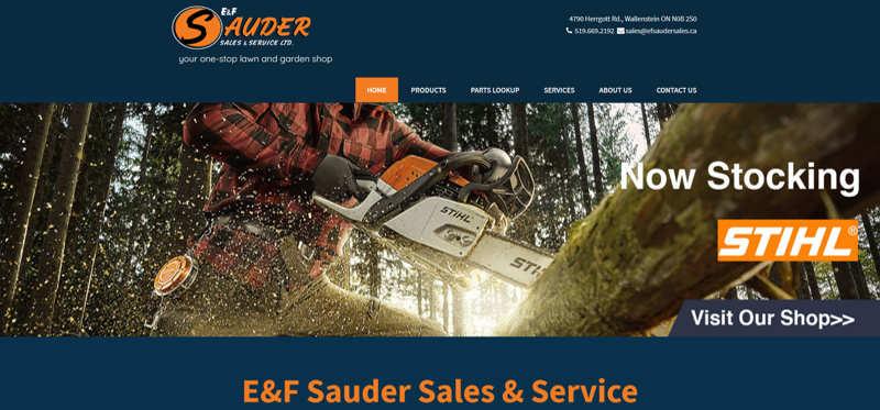 E and F Sauder